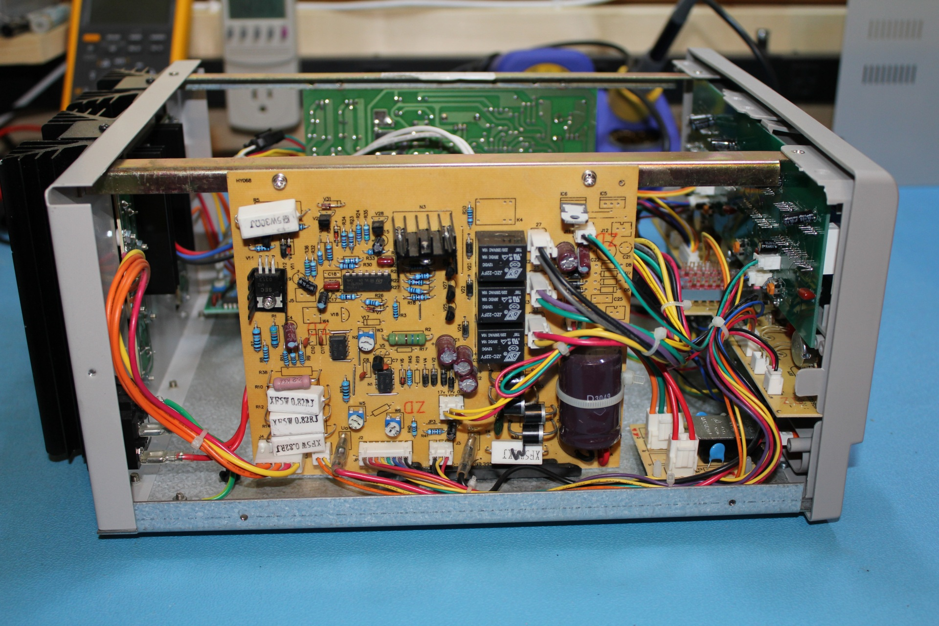 tekpower tpd  dc bench power supply review